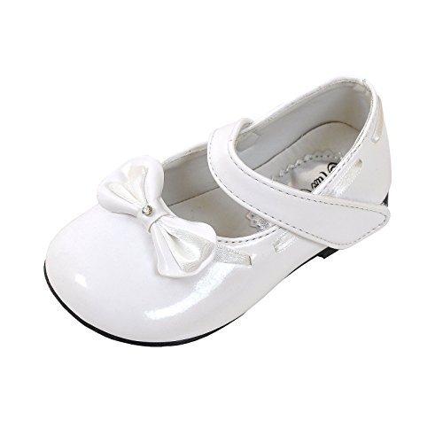 familientrends, Ballerine bambine Bianco bianco, Bianco (bianco), 20