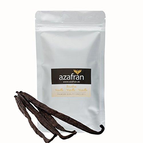 Azafran Bourbon Vanille Vanilleschoten 14-16 cm 10 Stk