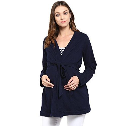 Wobbly Walk Women Full Sleeves Maternity Coat / Jacket