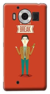 Mott2 Back Case for Microsoft Lumia Lumia 950 | Microsoft Lumia Lumia 950Back Cover | Microsoft Lumia Lumia 950 Back Case - Printed Designer Hard Plastic Case - Friends- TV show theme