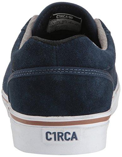 C1RCA Gravette Durable Cushioned Skate Shoe Dress Blues/Chambray