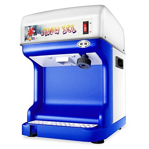 Zryh Máquina afeitadora de Hielo - Trituradora de Hielo eléctrica Máquina trituradora de Hielo Trituradora de Hielo Comercial Máquina fabricadora de Cono de Nieve Trituradora de Hielo raspada