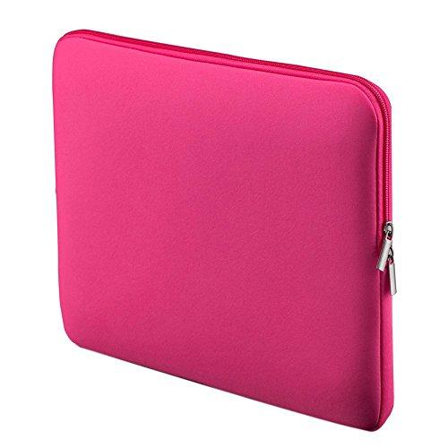 LSS Portatil Bolsillo Suave portatil bolsa Cubierta para 15 pulgadas 15 '15.6' MacBook Pro Retina Ultrabook Portatil (Rosa)