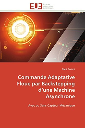 Commande adaptative floue par backstepping d une machine asynchrone