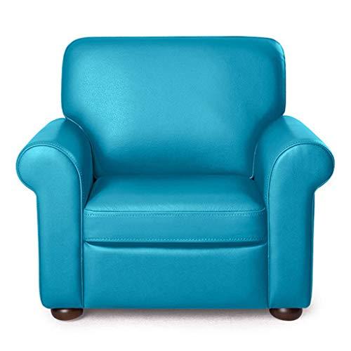Kindersofa Leder Umweltschutz pflegeleicht Kindersofa ist Nicht leicht zu verformen Junge Mädchen faul Sofa (Color : PINK, Size : 64 * 54 * 55CM)