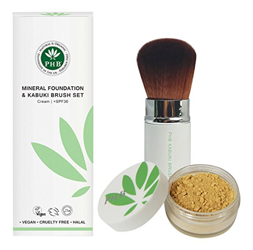 biokompatibel-mineral-farbe-foundation-und-kabuki-brush-set-mokka