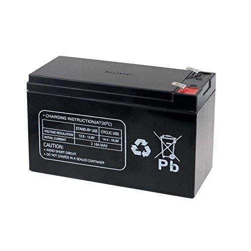Rbc2-ersatz (Premium Powery Ersatzakku für USV APC RBC2, Lead-Acid, 12V)