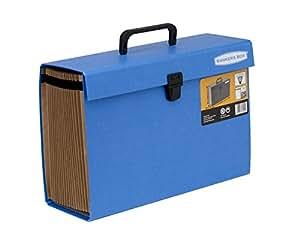 Fellowes 9352201 Trieur Accordéon Handifile Bankers Box - Bleu