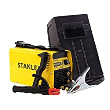 STANLEY STAR4000 MMA Inverter Welder, 230 V, Yellow and Black