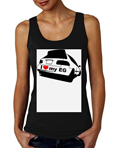 I Love My EG Honda Civic Women's Tank Top T-Shirt XX-Large