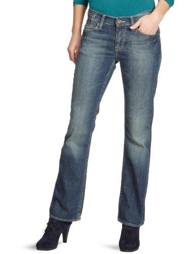 MUSTANG Damen Jeans Oregon Blau (heavy scratched used 579)