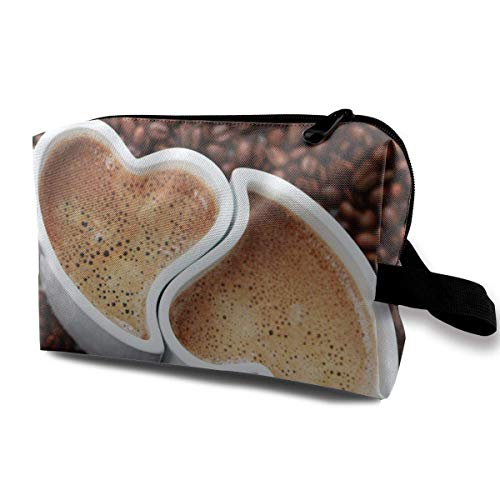 Soft Coffee Love Receive Package Storage Bag