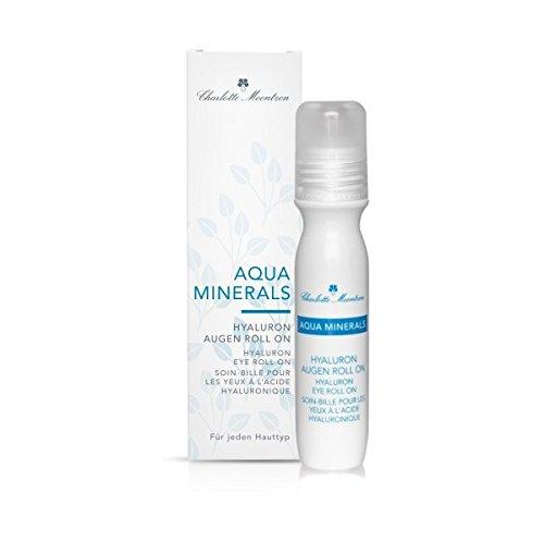 Charlotte Meentzen Aqua Minerals Hyaluron Augen Roll on, Augenpflege, 15 ml
