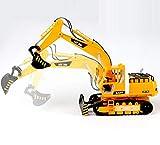 GAO Escavatore Senza Fili di Grandi Dimensioni per Escavatore con Telecomando per Camion di ingegneria per Bambini (40 * 68cm)