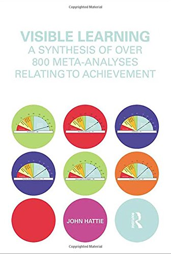 Visible Learning: A Synthesis of Over 800 Meta-Analyses Relating to Achievement