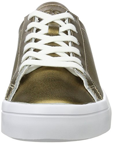 adidas Courtvantage, Sneakers Basses Femme Or (Copper Metallic/copper Metallic/footwear White)