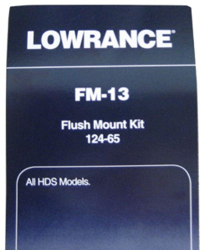 LOWRANCE FLUSH MOUNT FOR ALL HDS SERIES FM-12