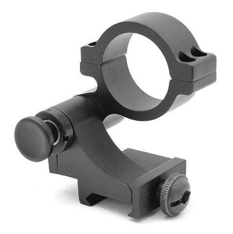 TMS 90Grad FTS Quick Flip zu Seite Halterung für 30mm Lupe Scope 42mm hoch