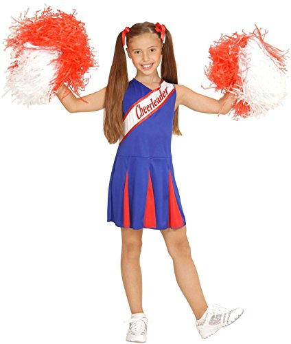 Imagen de widmann  disfraz de animadora para niñas de 5  7 años, 128 cm w0307 s  alternativa