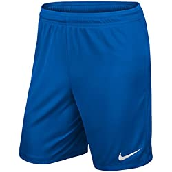 Nike Kid's Park II Shorts, Royal Blue/(White), Medium