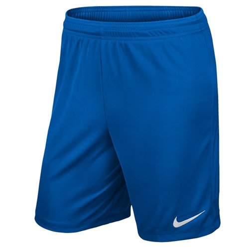 Nike Kinder Park II Knit Shorts ohne Innenslip, royal blue/white, L, 725988-463