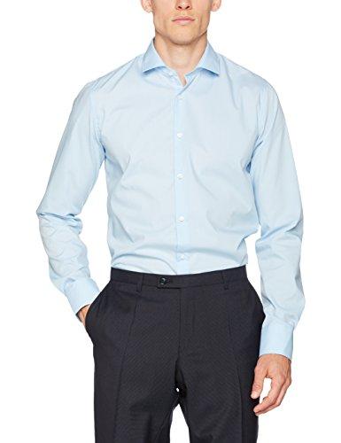 Club of Gents CG Slim-Chris, Camicia Formale Uomo Blau (Blau 61)