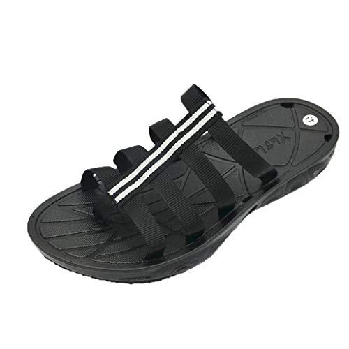 Sommer männer flip flops offene spitze hausschuhe mode strand schuhe massage bad Sandalen schnell trockend Badelatschen