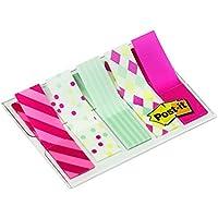 Post-it Index 684-CAN5-EU - Pack de 5 x 20 marcadores de media pulgada decorados