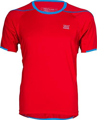 Tao Sportswear Suprasonic Men's T-shirt, Men, T-shirt ZENTOURION Running, red coat