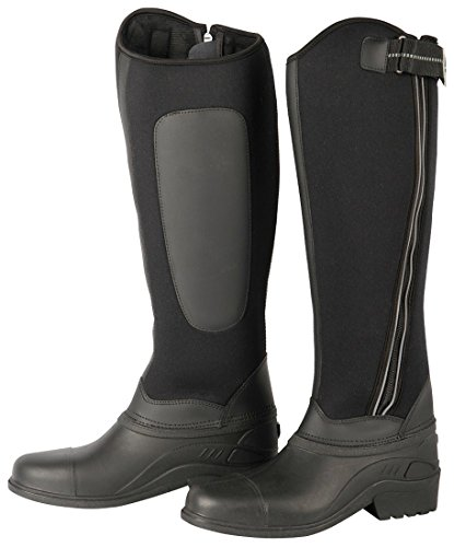 Thermo Reitstiefel -Winter Reitstiefel Winterstiefel Wasserdichter Fuß reflektierend, warm, Zip | Winter Thermo Reitstiefel, Gr. 40