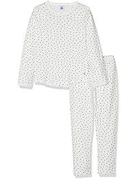 Petit Bateau Beurre, Pijama para Niñas