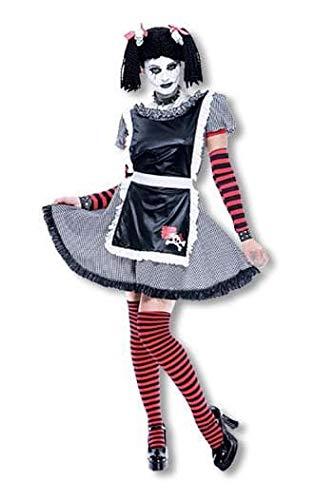 Horror-Shop Gothic Schlenkerpuppen Kostüm L