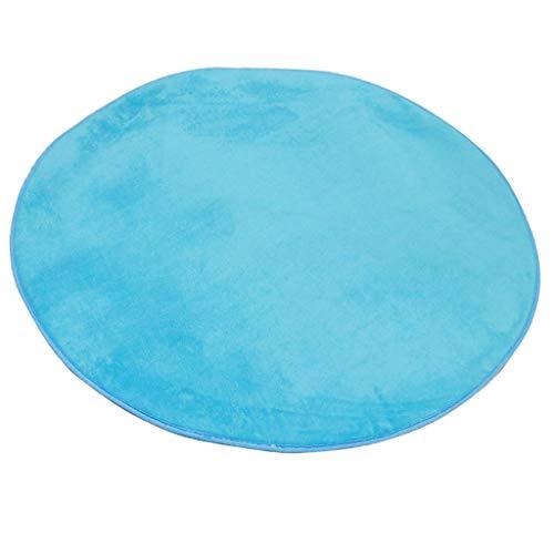 FLAMEER Runde Weich Teppich Bodenmatte Matt für Kinder Zelt, Spielhaus, Kinderzimmer, Schlafzimmer...