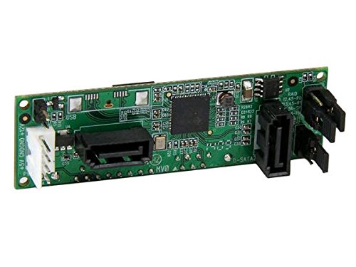 StarTech SATA Dual Adapter (interne SATA auf 2-fach SATA HDD RAID Controller Karte)