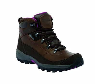 Regatta Ladies Brookland Mid Waterproof Breathable Walking Boots Brown