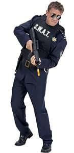 Déguisement gilet swat homme taille m