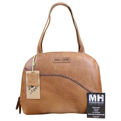 My-Musthave , Sac pour femme à porter à l'épaule Marron marron Centre