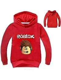 Lanminer Chaqueta Infantil Unisex Roblox Moda Gruesa con Capucha Acolchada Chaqueta de Abrigo de Invierno Ropa