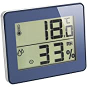 Digitales Thermometer-Hygrometer Ultra-Flat Raumklimakontrolle