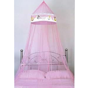 Principesse disney tenda baldacchino per il letto amazon - Letto a baldacchino bambina ...