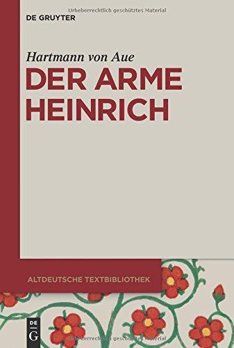 Der arme Heinrich (Altdeutsche Textbibliothek, Band 3)