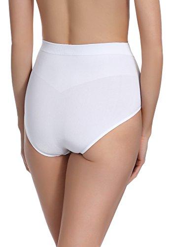 Merry Style Damen Slip Figurformend 06 42 Weiß