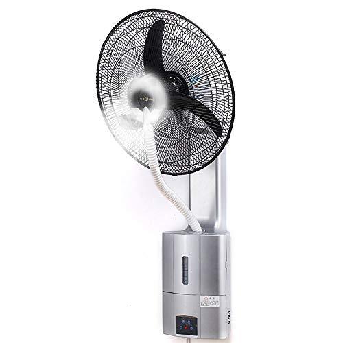 ZHIRONG Ventilador Montado En La Pared Ventilador De Pulverización Oscilante/Rotativo 3 Velocidades Control...