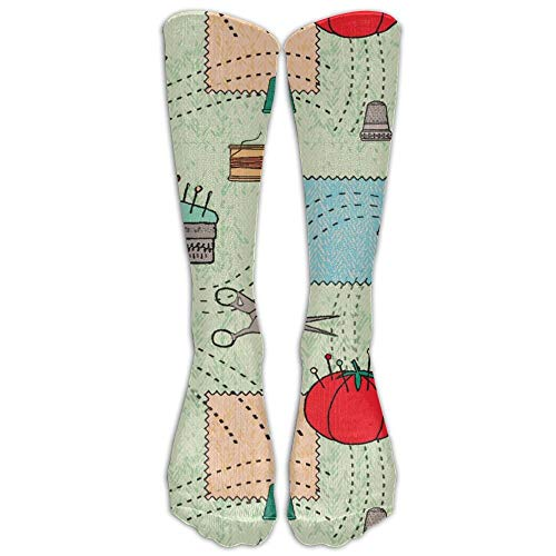 Unisex Unique Design Vintage Sewing Socks 78% Cotton / 20% Nylon / 2% Spandex (Fahrer Mutterschaft)