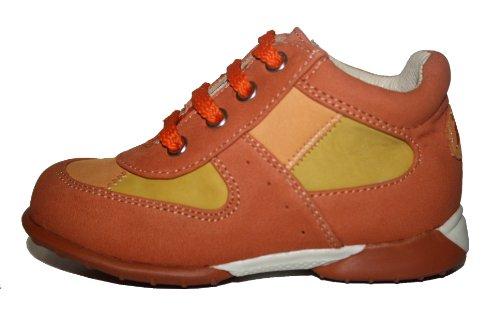 JELA Bébé Chaussures 51003 Bottines fille, chaussures en cuir Orange (orange/mandarin)
