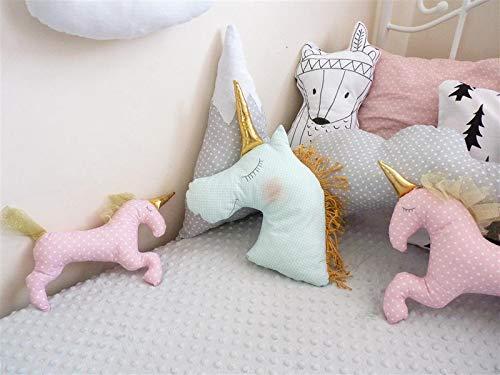 Rosa Einhorn - gefüllte Spielzeug Einhorn - Unicorn Spielzeug - Einhorn-Geburtstag - Kinderzimmer Dekor - gefüllte Spielzeug Kissen - Einhorn Kindergarten - Einhorn Plüsch