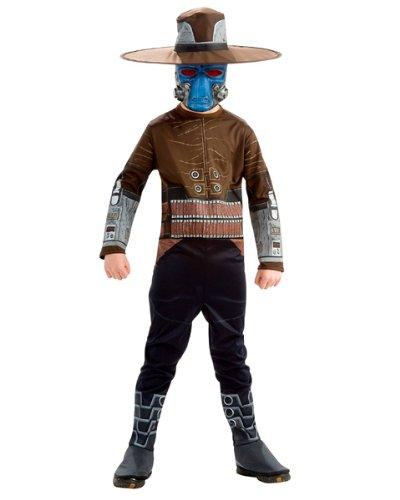 Rubie's Star Wars Clone Wars Kostüm Cad Bane Gr. S für Kinder von 3 bis 4 Jahren