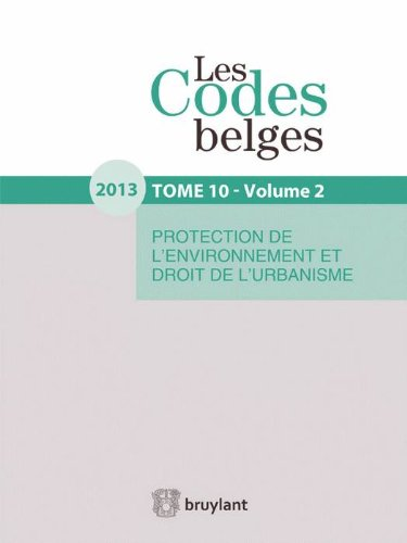 Les Codes belges. Tome 10. 2013 (2 volumes)