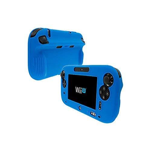 Weich Silikon Gel Full Schutz Schutzhülle für Nintendo WII U Gamepad Controller, iwatch 42mm, Blau