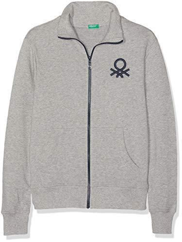 UNITED COLORS OF BENETTON Jacket Manteau Garçon, Gris (Grigio Melange 501), Unique (Taille Fabricant: X-Large)